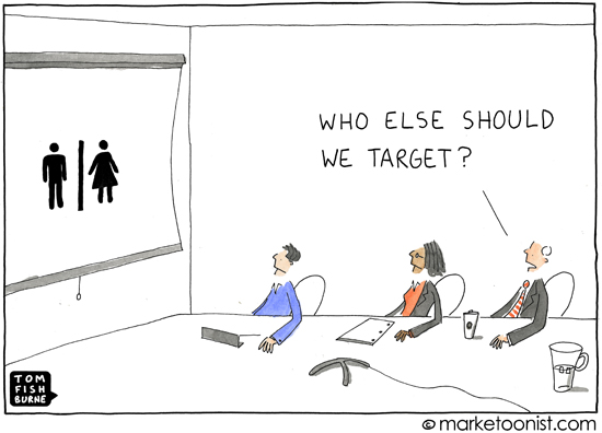 Marketing team men women